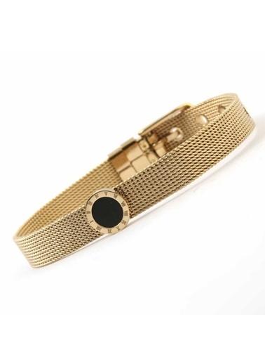 Welch Steel Gold Hasır Kadın Çelik Bileklik Renkli